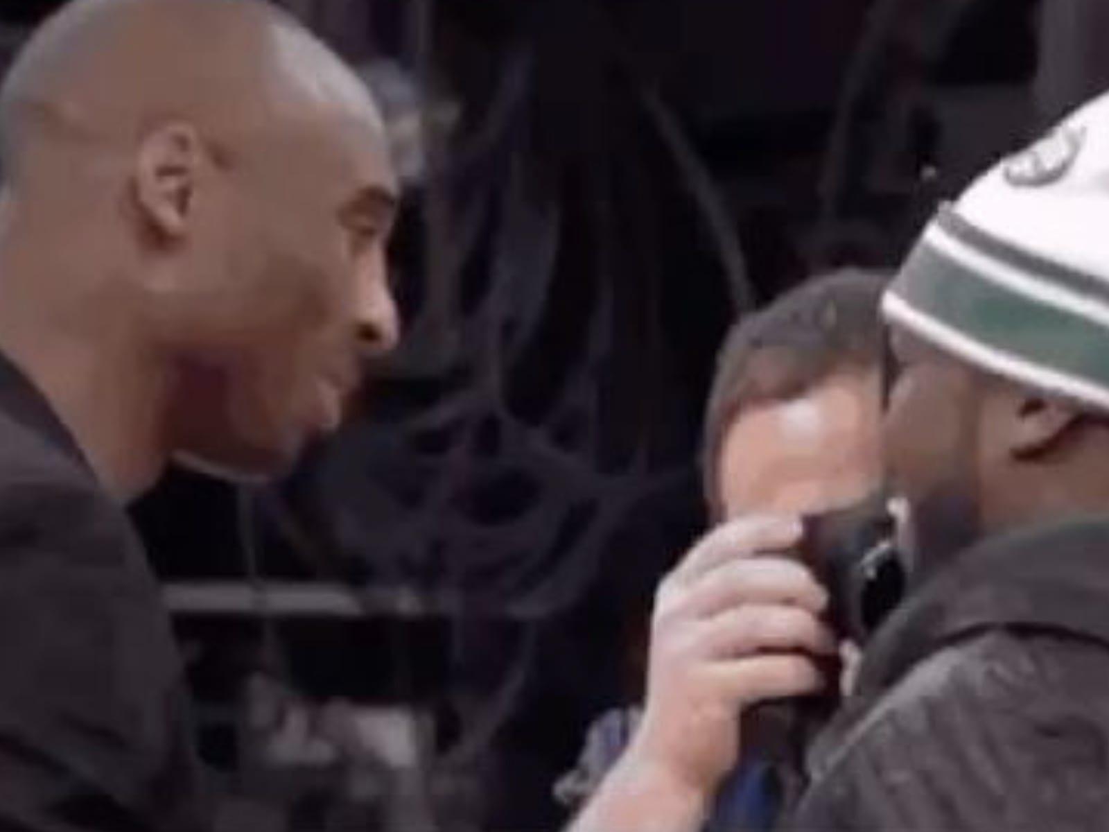 Kobe Bryant 50 Cent Footage