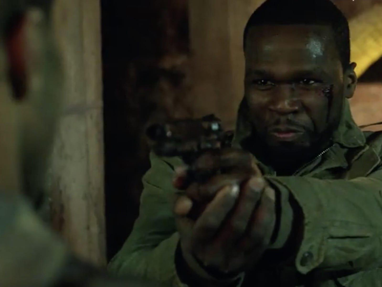 POWER 50 Cent Omari Hardwick Scene