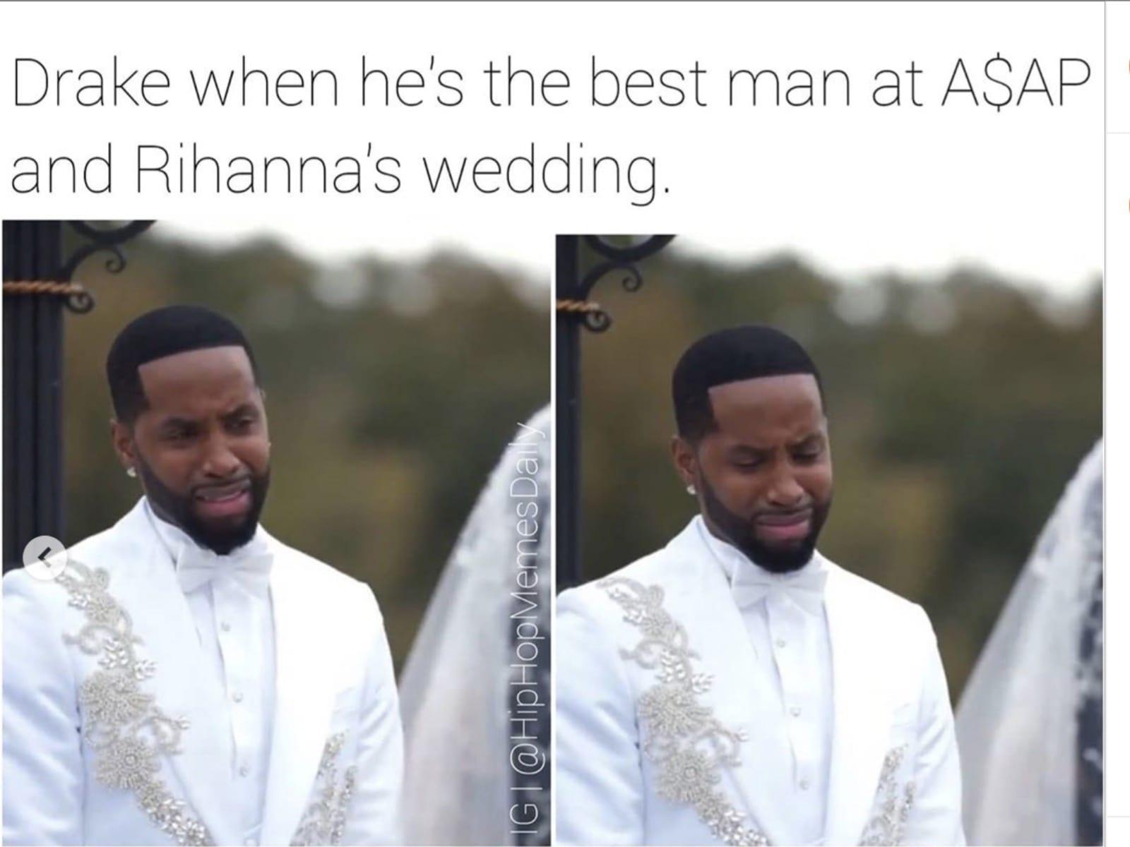Rihanna ASAP Rocky Dating Memes