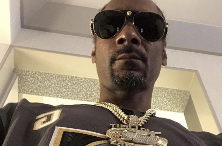 Snoop Dogg Selfie Pic Wearing Shades