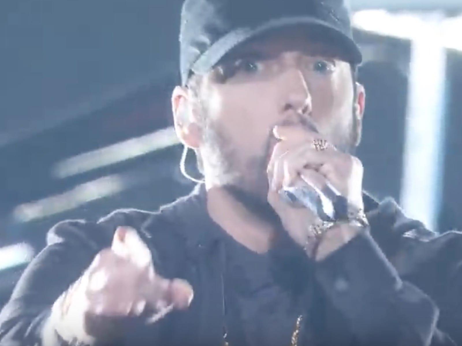 Eminem Oscars Performance