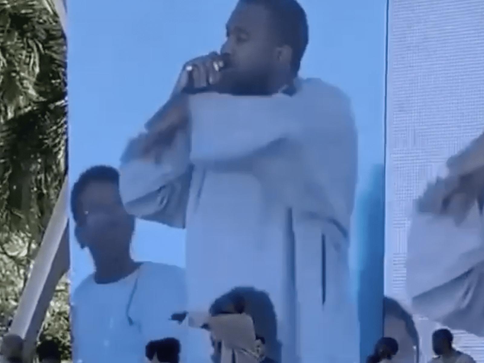 Kanye West Sunday Service Clip