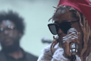 Lil Wayne Jimmy Fallon Live Show Clip