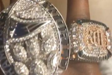 Meek Mill Super Bowl Championship Rings