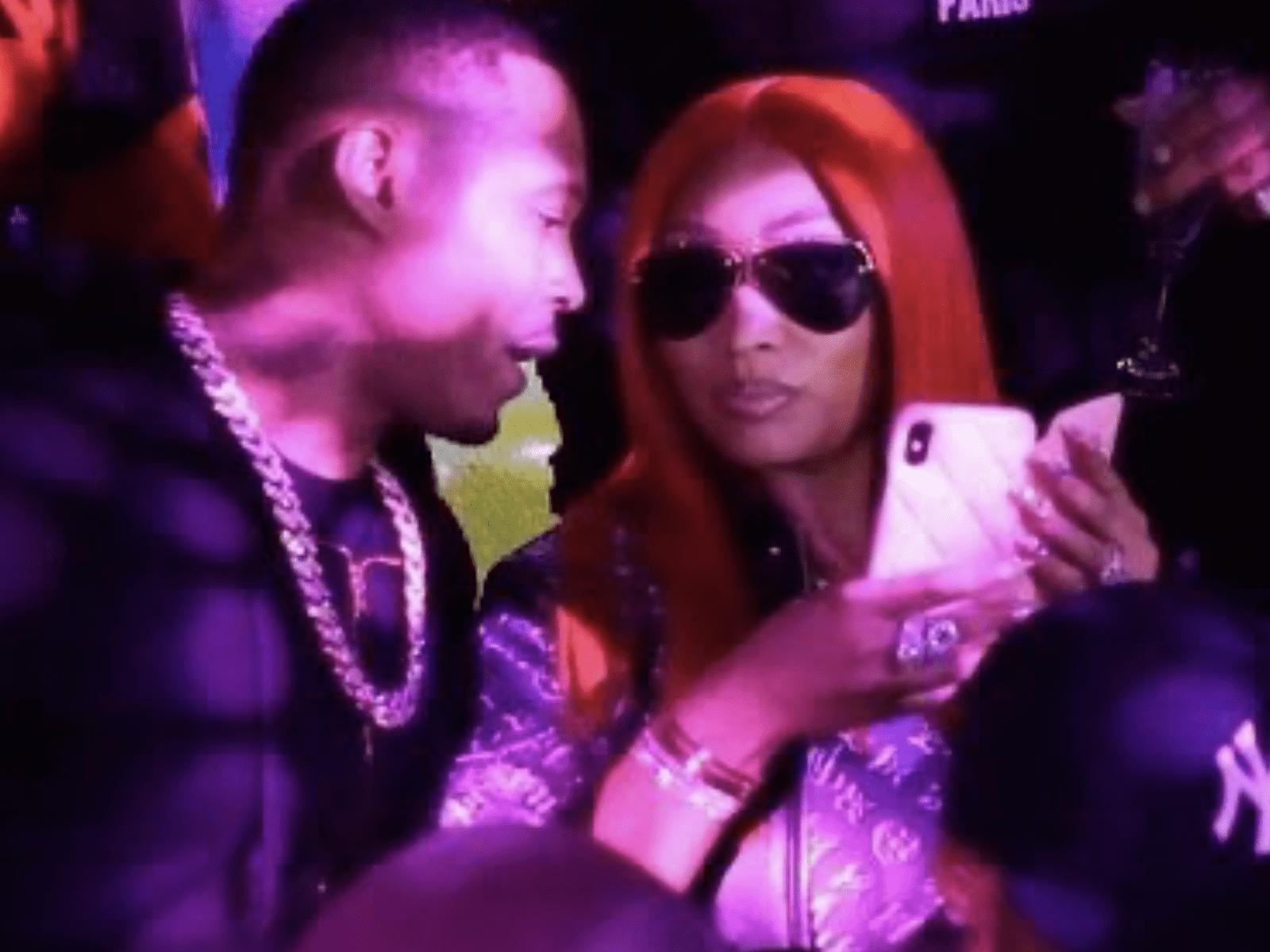 Nicki Minaj Kenny Petty Clip