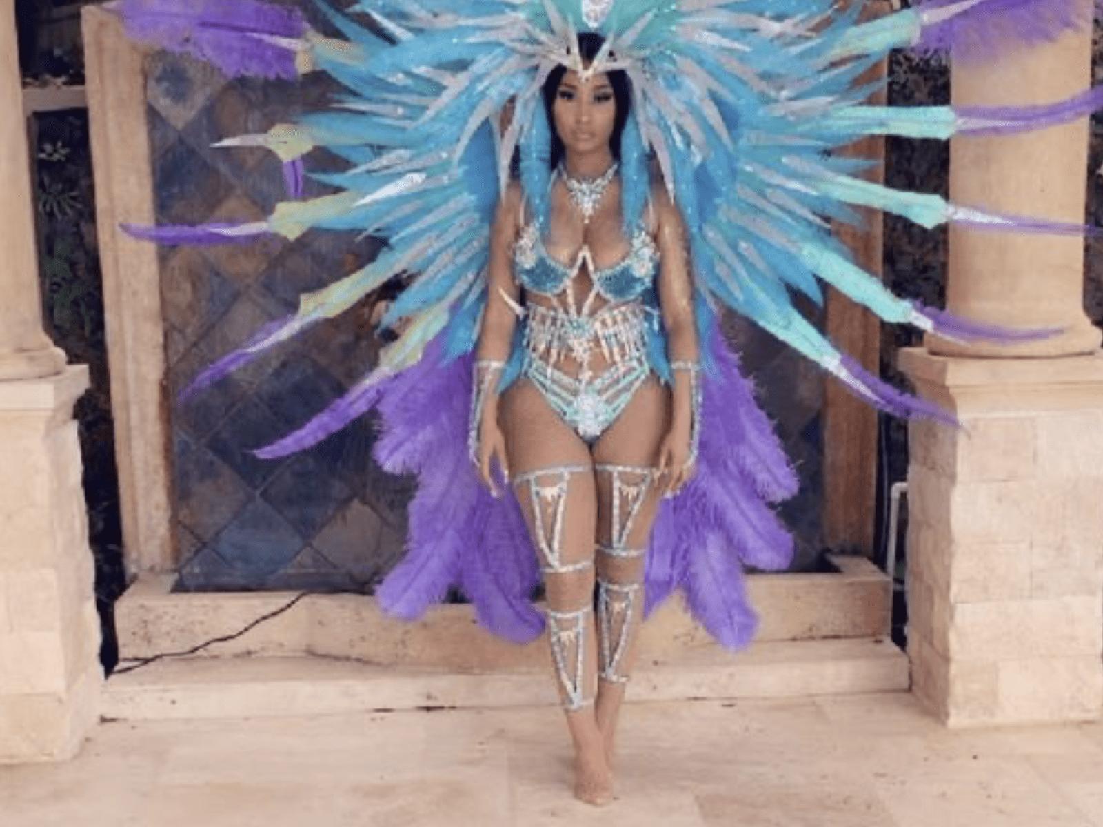 Nicki Minaj Trinidad Outfit