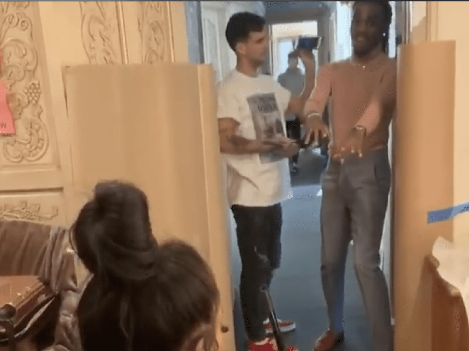 Quavo Saweetie Broom Challenge