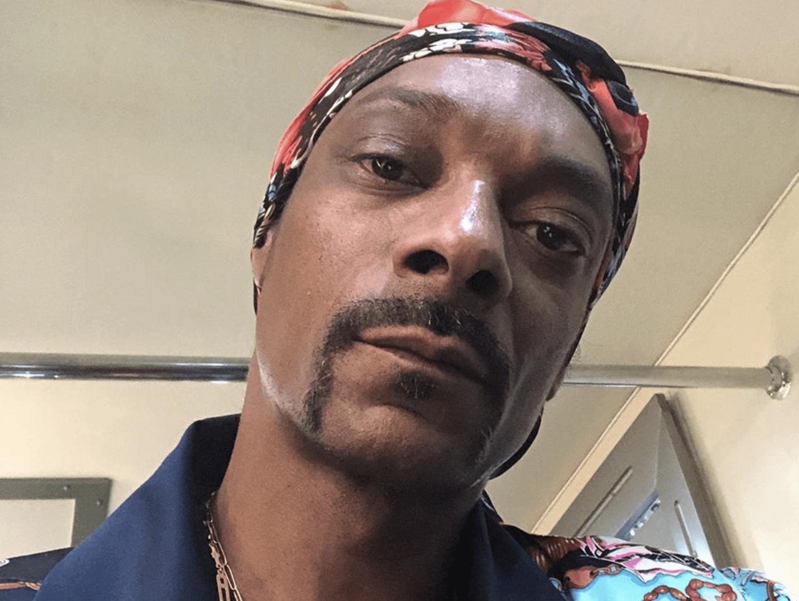 Snoop Dogg Selfie Pic Gayle King Drama
