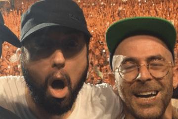 Eminem Alchemist Selfie Pic