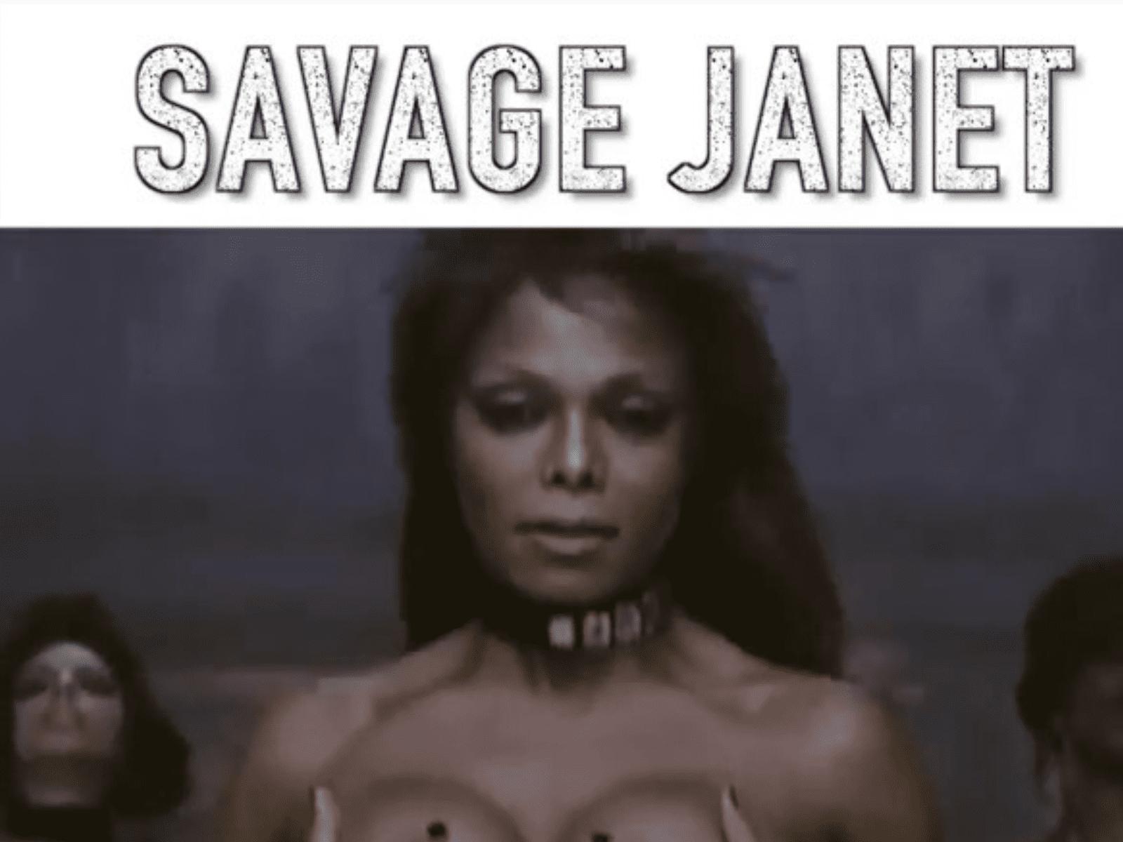 Janet Jackson Savage Challenge