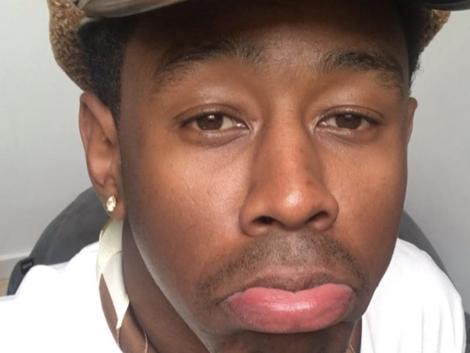 Tyler the Creator Selfie Moment On Lock