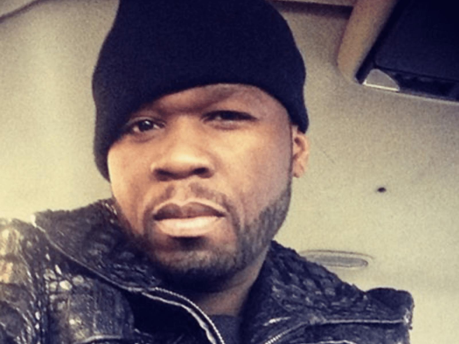 50 Cent Selfie Pic April 2