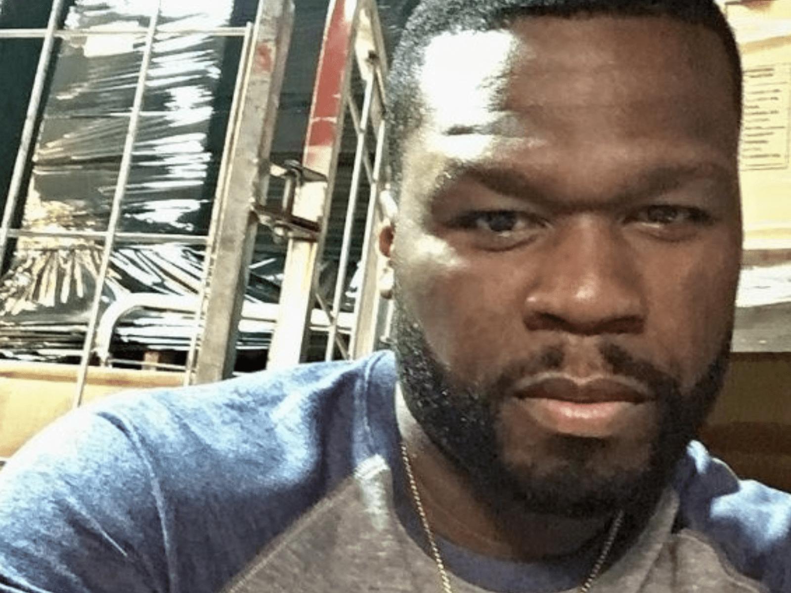 50 Cent Selfie Pic April 3