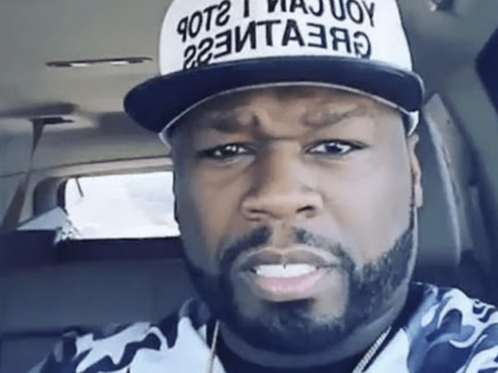 50 Cent Selfie Pic April 4