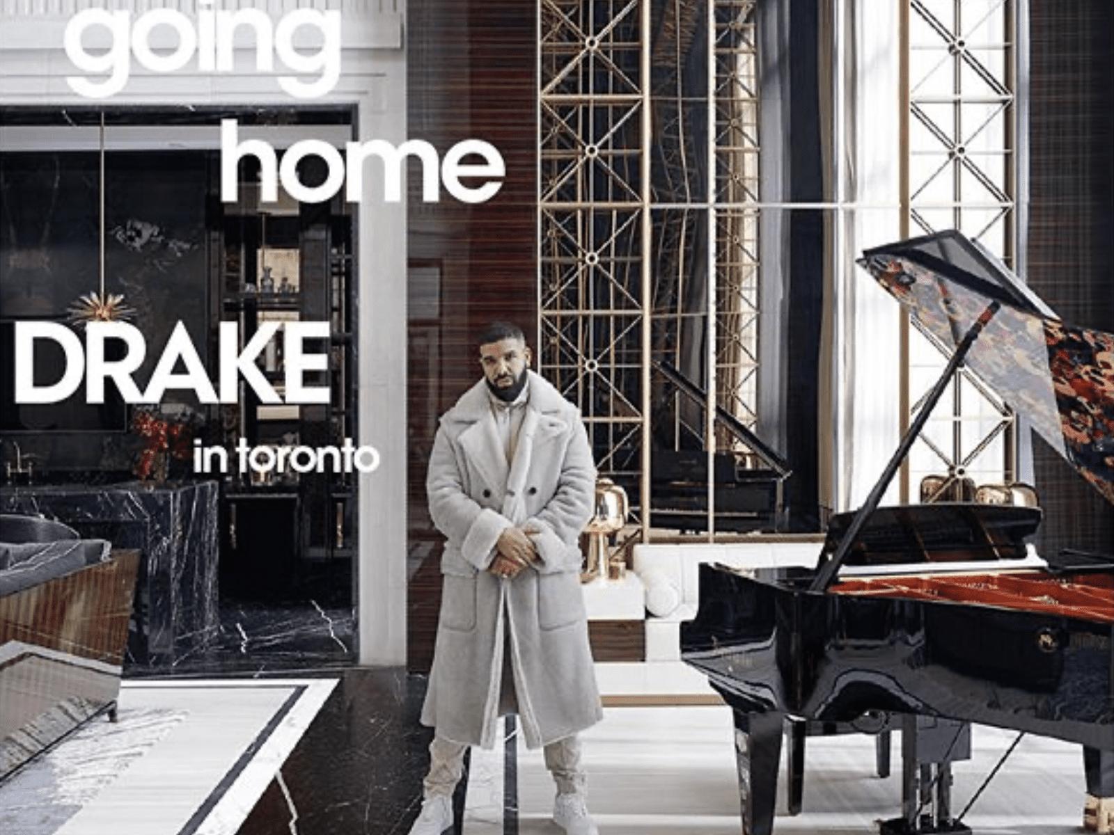 Drake reveals Toronto mansion