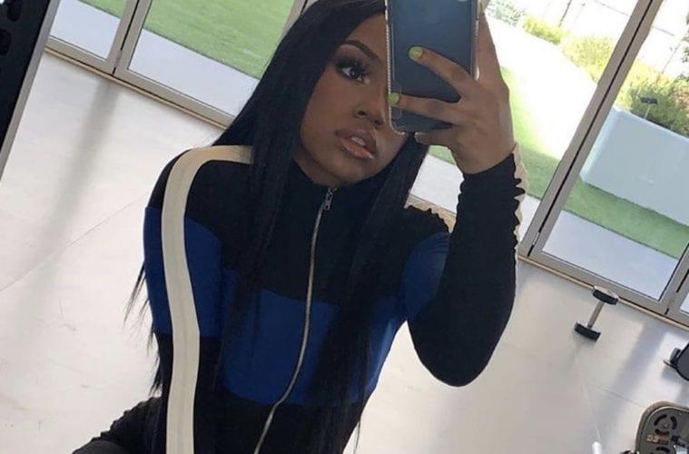 Iyanna Mayweather Selfie Pic