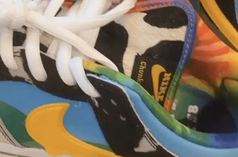 Quavo Ben and Jerry's Nike Kicks