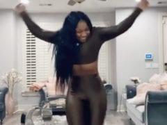 Reginae Carter Dancing Clip Gunfire