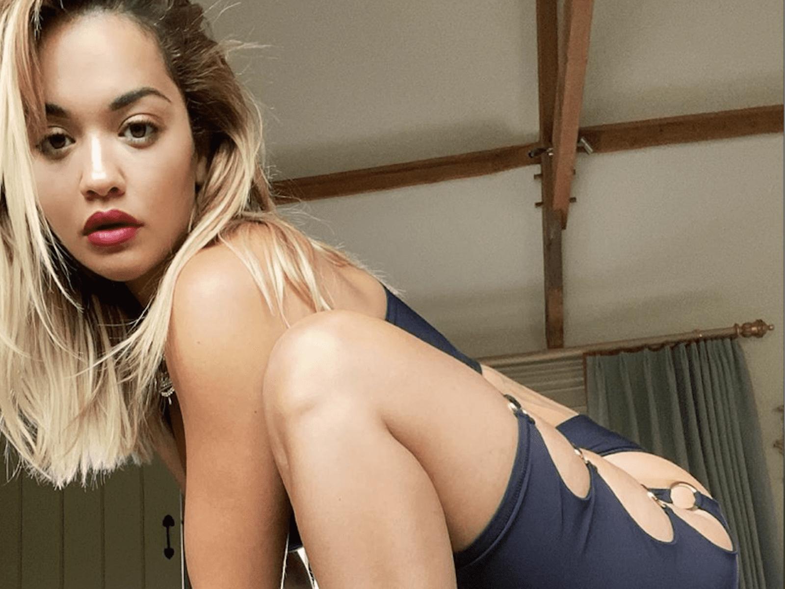 Rita Ora Workout Selfie Pics Moments 4