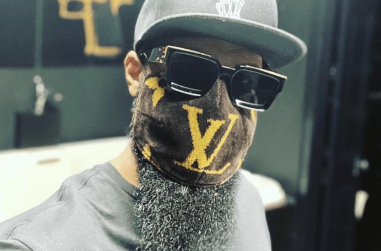 Slim Thug Wearing COVID-19 Mask