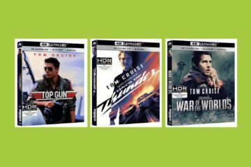 Tom Cruise 4K Ultra HD Releases