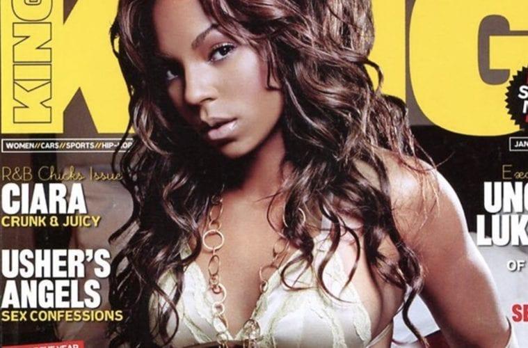 Ashanti King Magazine Cover