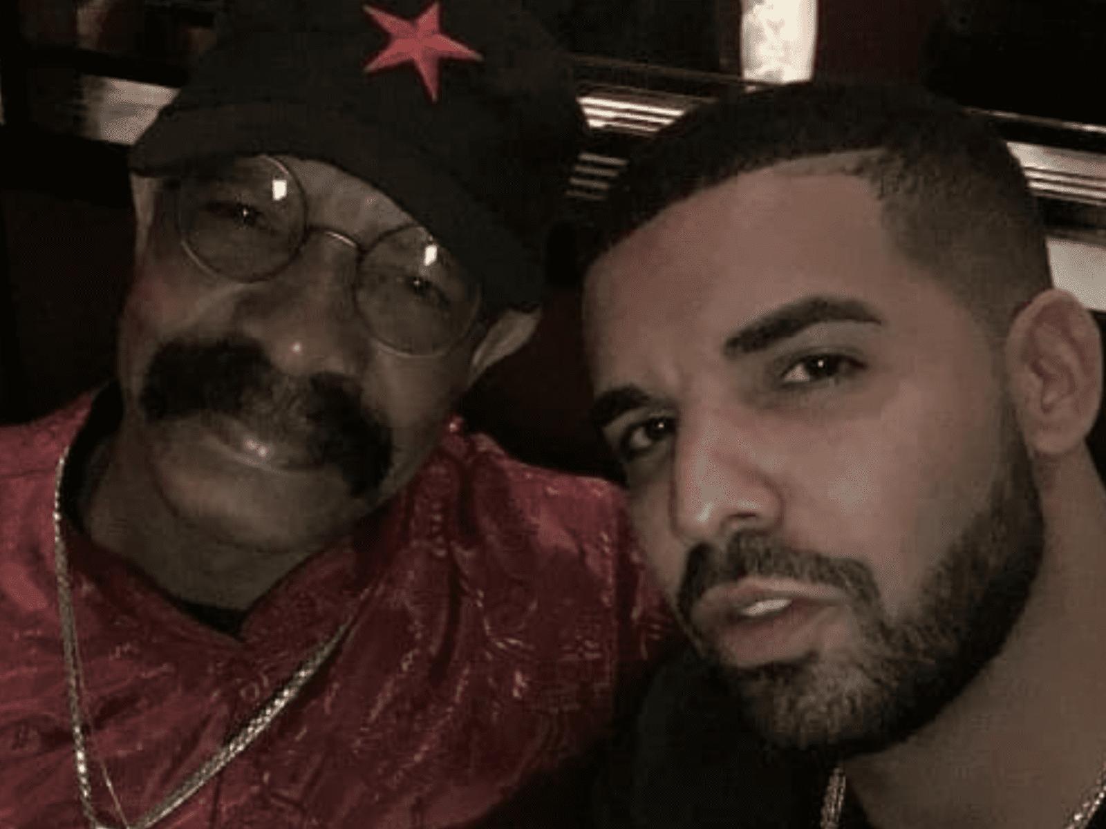 Dennis Graham Drake Dad Selfie Together