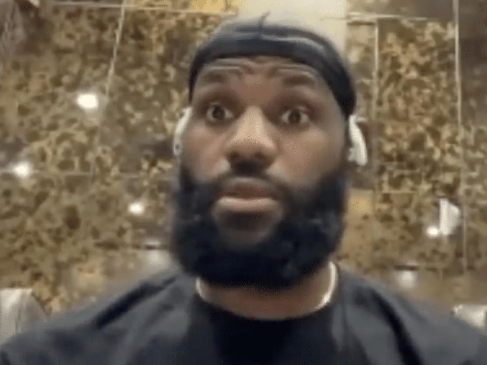 LeBron James Last Dance Reaction