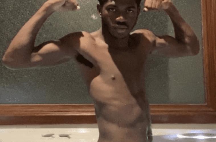 Lil Nas X Nude Bathroom Pic