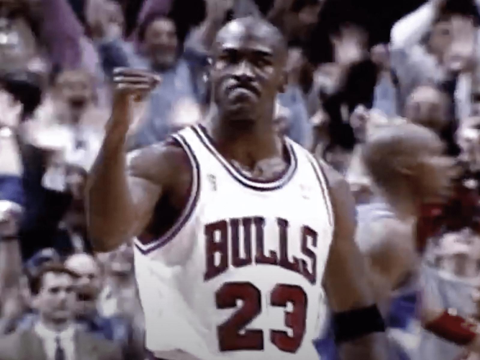 Michael Jordan Clip Moment