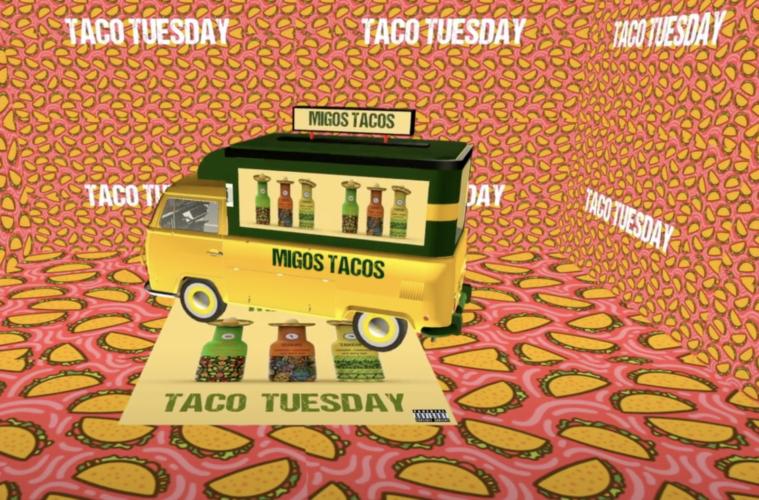 Taco Tuesday Migos Visual