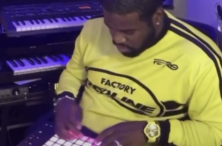A$AP Ferg Studio Grind Yellow Top