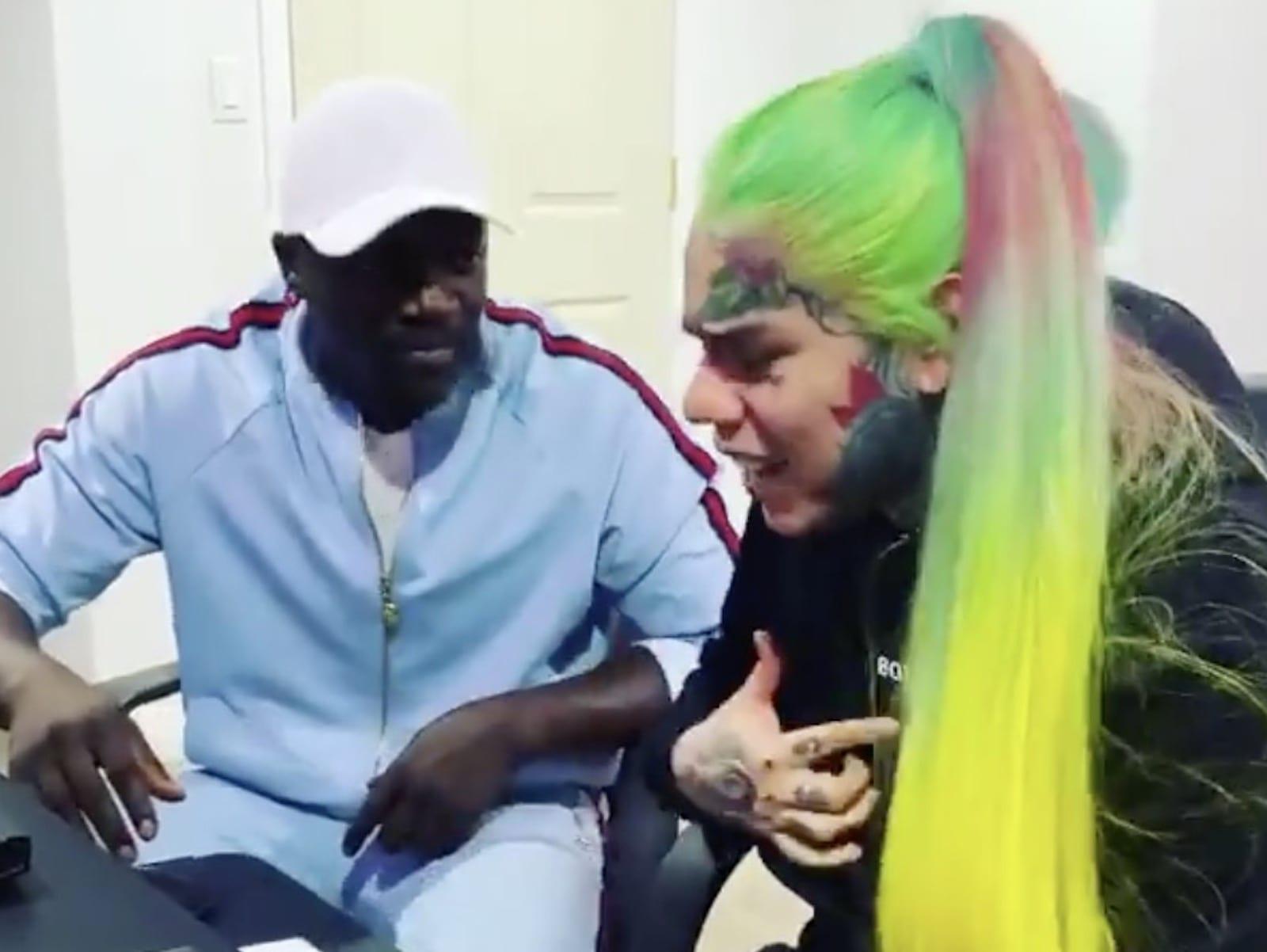 Akon Tekashi 6ix9ine Locked Up 2