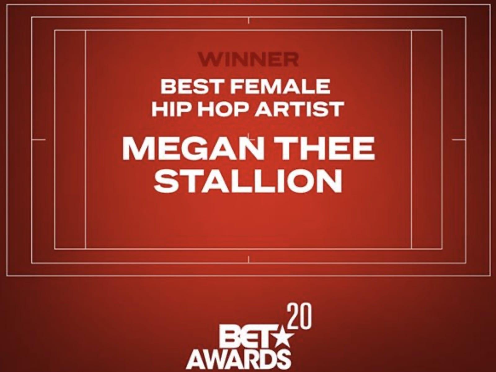 BET Awards 2020 Megan Thee Stallion