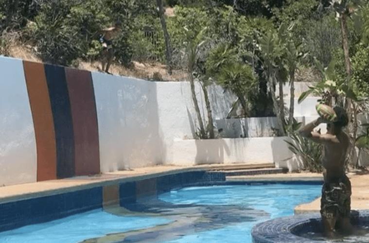 Desiigner Blueface Pool Jump