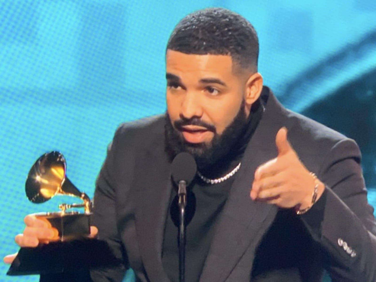 Drake Grammys Acceptance Speech