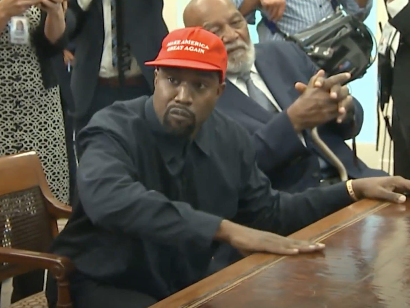 Kanye West White House Donald Trump 2
