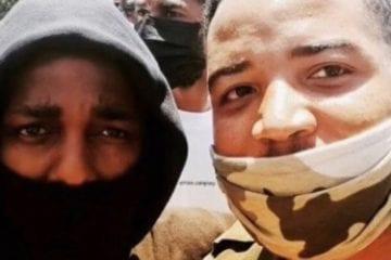 Kendrick Lamar Selfie Protest