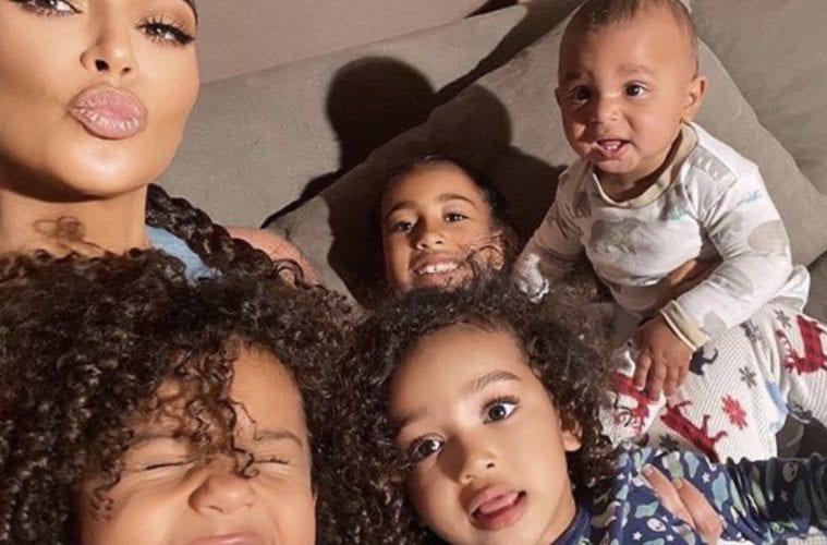 Kim Kardashian Kids North Saint Psalm Chicago