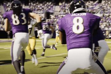 Lamar Jackson NFL Madden 21 Trailer