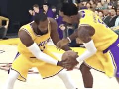 JR Smith LeBron James NBA 2K20