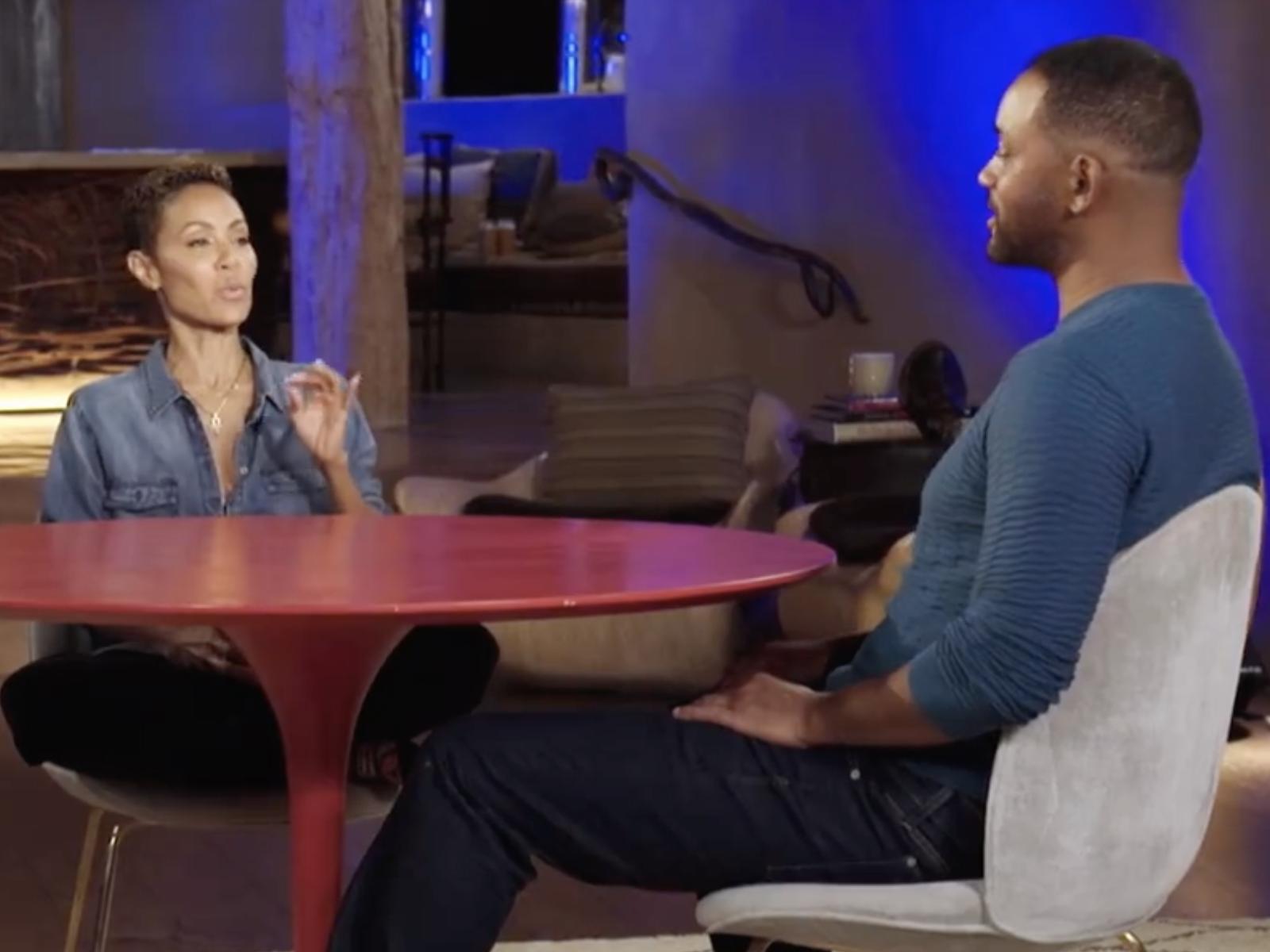 Jada Pinkett Will Smith Red Table Talk Show 10
