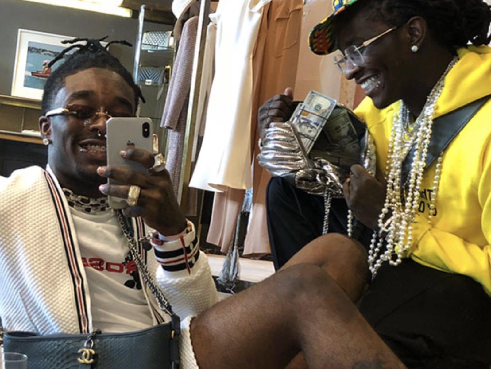 Lil Uzi Vert Young Thug Selfie Together