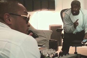 T.I. Kanye West Studio Moment Clip