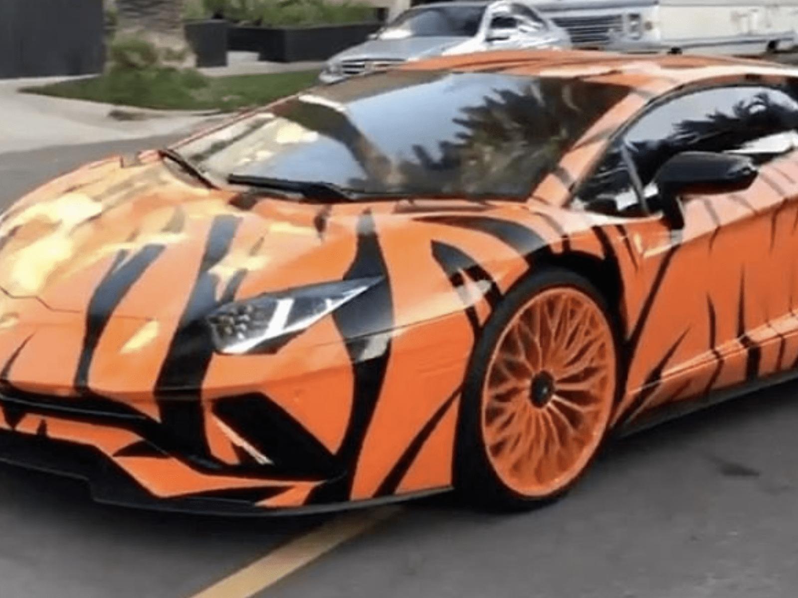 Tyga Lamborghini Look