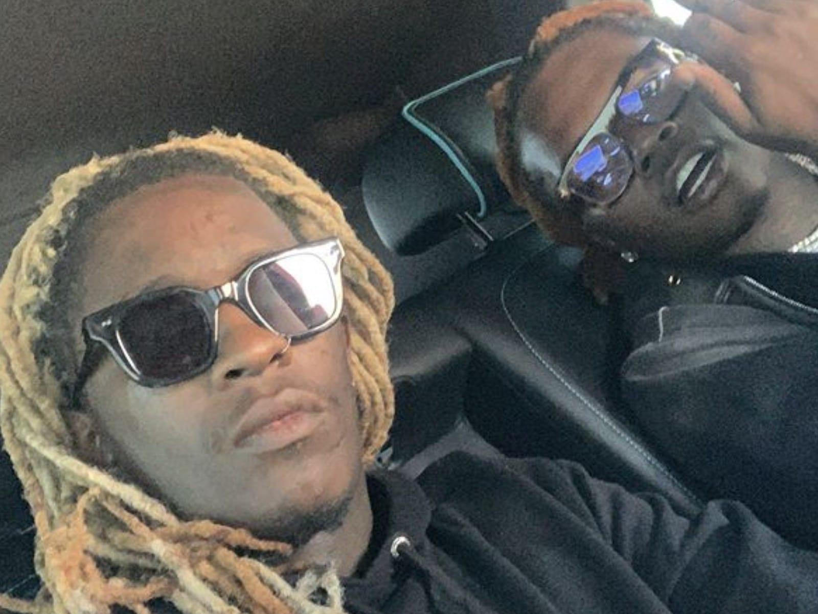 Young Thug Gunna Selfie Together Pic