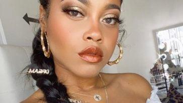 Destiny Jones Selfie Lipstick White Outfit