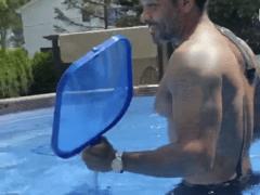 Jim Jones Pool Clip Airing Out