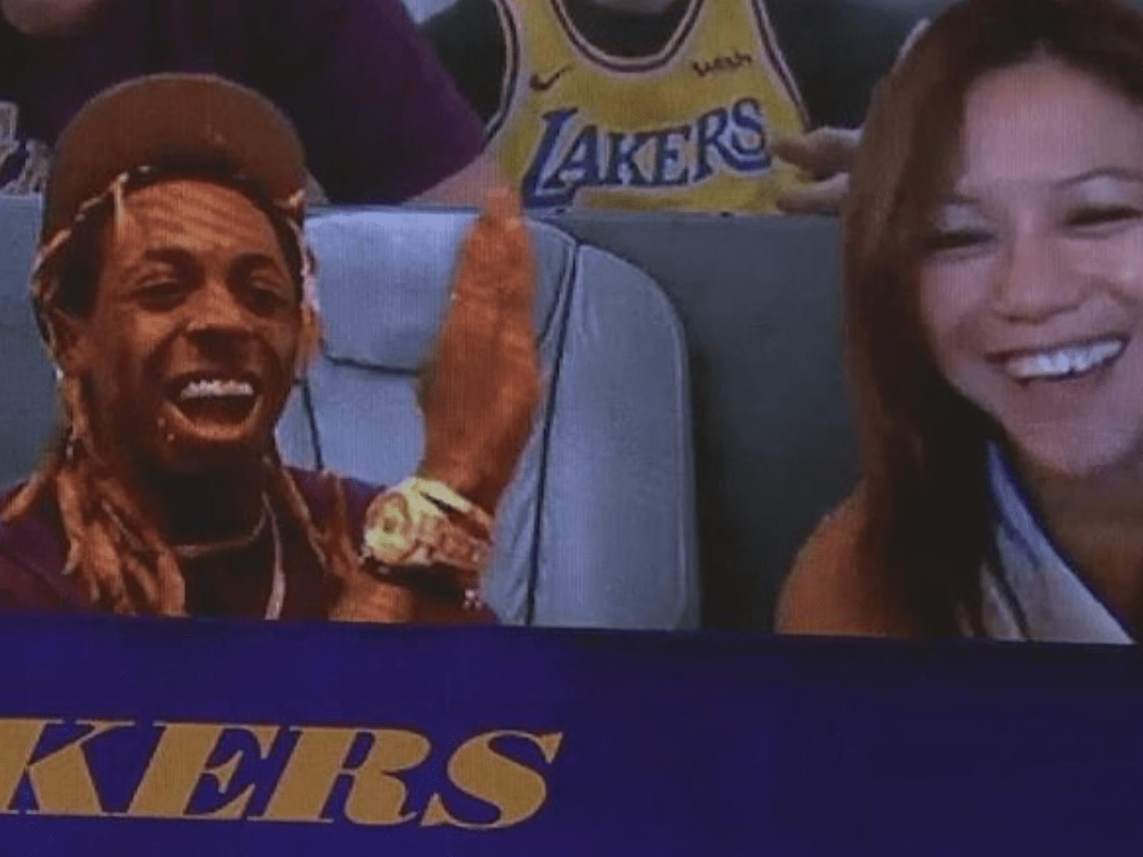 Lil Wayne's NBA Seating Virtual