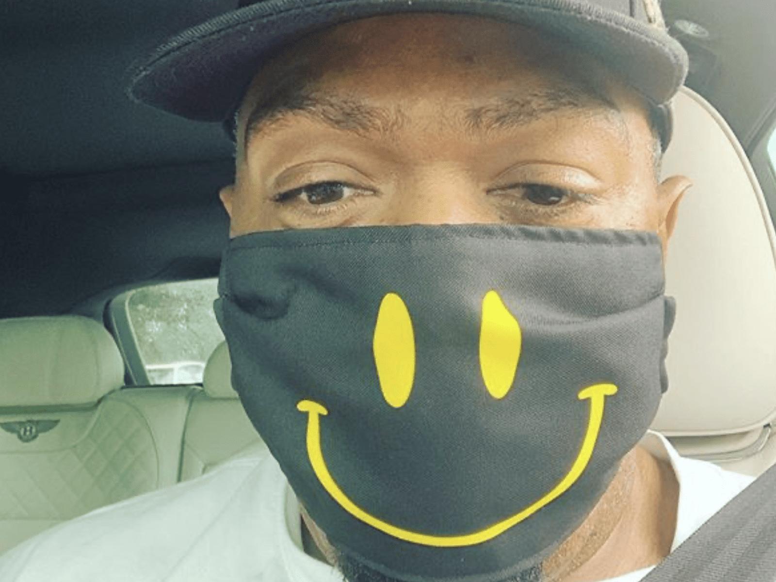 Timbaland Mask Smile